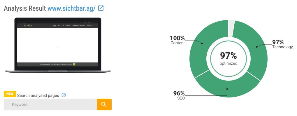SEO OnPage Analyse